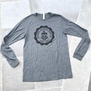💜 3/25$ Kappa Alpha Theta Grey Long-Sleeve Top